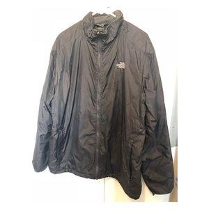 The North Face Waterproof Large Raincoat Black